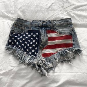 Pants - American flag shorts